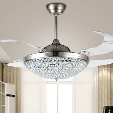 Dining Room With Ceiling Fan by Wonderful Contemporary Crystal Ceiling Fan Med Art Home Design