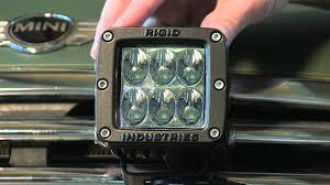rigid industries led driving lights rigid industries d2 led driving light youtube
