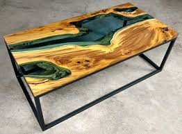 live edge river table epoxy 12 best glass river tables images on pinterest epoxy synthetic