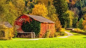 1920x1080 fall wallpaper download wallpaper 1920x1080 autumn building grass trees full