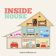 house inside inside house vector free download