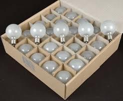 frosted satin g50 7 watt replacement bulbs 25 pack novelty