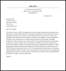 professional rn case manager cover letter sample u0026 writing guide