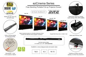 Ezcinema Series Portable Projector Screens Elite Screens