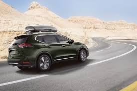2018 nissan x trail green exterior rear side view carmagram