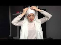 video tutorial turban style tutoriel hijab simple pour mariée simple bridal hijab tutorial