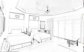 new architecture house sketch stylish home designs luxury bed room