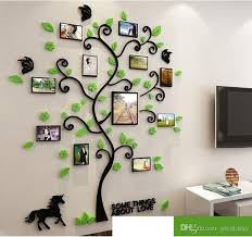 home decor 3d stickers 3d acrylic crystal wall stickers living room bedroom cozy pictures