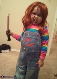 Chucky Costume Child U0027s Play Chucky Costume Idea For Girls