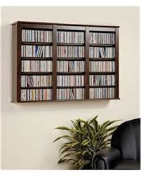 buy dvd storage cabinet tis the season for savings on everett espresso wall mounted hanging