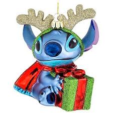 your wdw store disney ornament blown glass stitch