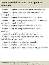 Truck Driver Job Description For Resume by Tow Truck Driver Job Description For Resume Contegri Com
