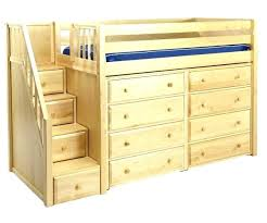dresser with desk attached bed with built in dresser contemporary bed with dresser attached