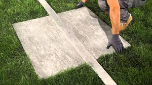 Laying Patio Slabs On Grass Laying On Grass Novoceram Outdoor Plus Youtube