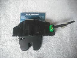 nissan micra boot lock mechanism a genuine peugeot 207 citroen c4 picasso tailgate boot lock catch