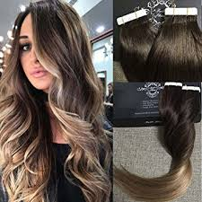 glue in extensions fshine 18 ombre hair extensions remy