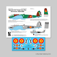 by order of the air force instruction 65 601 volume 3 1 blue rider aircraft decals br408 hannants