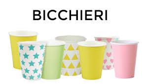 piatti e bicchieri di plastica colorati tavola decorazioni e addobbi per feste piatti e bicchieri