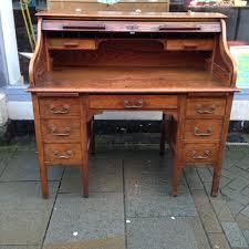 Oak Roll Top Secretary Desk by Oak Chair For Roll Top Desk Mpfmpf Com Almirah Beds Wardrobes