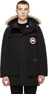 canada goose womens boots canada goose black citadel parka in black for lyst