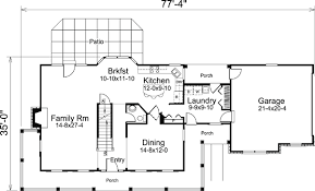 colonial cape cod house plans house plan 95822 at familyhomeplans com