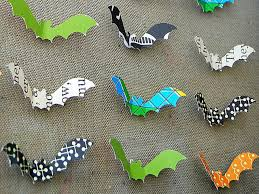 Halloween Bat Cutouts by Halloween Bat Decorations Craft For Kids Hgtv