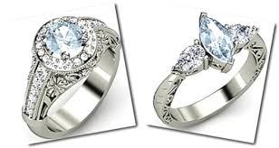Aquamarine Wedding Rings by Aquamarine Engagement Rings Youth Personified