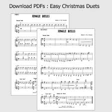 pdf chart easy christmas duets piano 4 hands sally greenaway