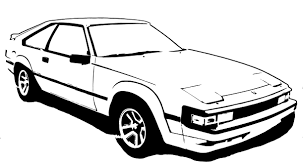 toyota supra drawing celica supra stencil 2 by branbot on deviantart