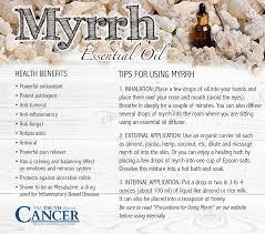 the healing gifts of myrrh essential oil