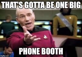 Big Phone Meme - picard wtf meme imgflip