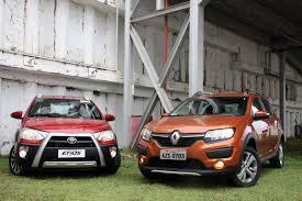 Comparativo: Renault Sandero Stepway encara Toyota Etios Cross ...