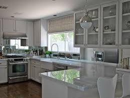mirror backsplash contemporary kitchen kristen nix interiors
