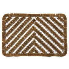 Coir And Rubber Doormat Astroturf Scraper Door Mats