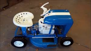 1969 rugg by lowes riding lawn mower restoration youtube