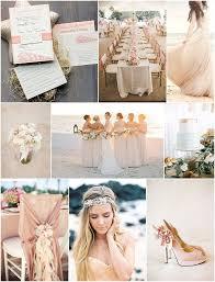 blush beach wedding inspiration