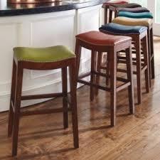 bar stools for kitchen island espresso saddle bar stools foter