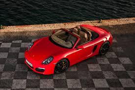 red porsche boxster driven 2013 porsche boxster s automobile magazine