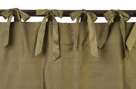 how to make tie top curtain we say how