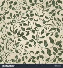 seamless vintage pattern victorian style hand stock vector