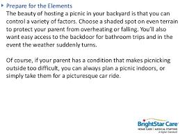 Backyard Picnic Ideas Backyard Picnic Ideas For Seniors