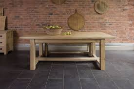 Oak Dining Room The Farmhouse Oak Dining Table By Indigo Furniture