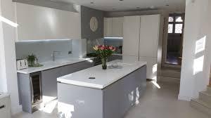 interior solutions kitchens modern grey white handles kitchen by schmidt barnet modern