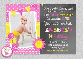 sunshine birthday invitation sunshine birthday party invitation