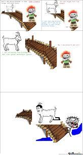 Billy Goat Meme - 3 billy goats gruff by ssetzco meme center