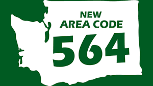 Washington State Map Clipart 35 by New Area Code Coming To Western Washington Kiro Tv