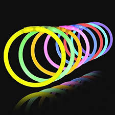 glow sticks 100 8 light up glowstick bracelets toys