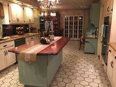 hand painted kitchen islands hand painted kitchen island and cabinets diy amazing transformation