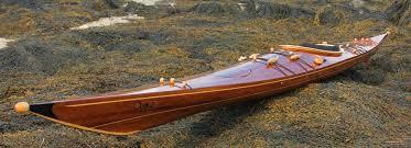 laughing loon wood strip sea kayaks