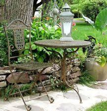 Iron Bistro Table Set Antique Bistro Table Ebay